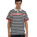 Polo tričko Everlast - Polo Shirt White/Black
